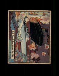 1941 UNCLE SAM GUM INC. #34 U.S. TORPEDO BOAT ATTACKS JAP SHIP *R5473
