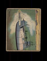 1941 UNCLE SAM GUM INC. #58 SUBMARINE TORPEDO PRACTICE *G6548