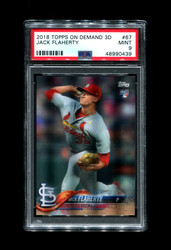 2018 JACK FLAHERTY TOPPS ON DEMAND 3D #67 ROOKIE CARDINALS PSA 9