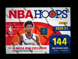 2021 NBA HOOPS BASKETBALL MEGA BOX