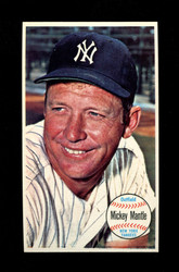 1964 MICKEY MANTLE TOPPS GIANT #25 YANKEES *G124