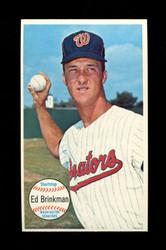 1964 ED BRINKMAN TOPPS GIANT #27 SENATORS *G126