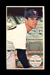 1964 CAMILO PASCUAL TOPPS GIANT #32 TWINS *G131