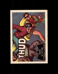 1966 BATMAN A&BC #18 BLACK BAT ROBIN IN ACTION *2877