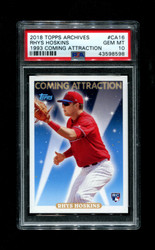 2018 RHYS HOSKINS TOPPS ARCHIVES #CA16 COMING ATTRACTIONS 1993 PSA 10