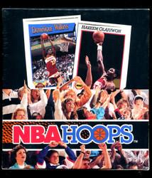 1991 NBA HOOPS BASKETBALL SERIES 1 FACTORY SEALED RACK BOX