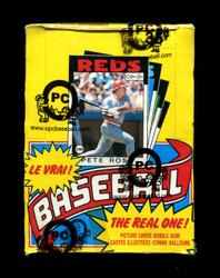 1986 OPC BASEBALL O PEE CHEE WAX BOX OPCB AUTHENTICATED