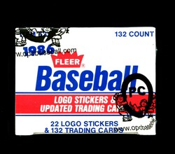 1986 FLEER UPDATE BASEBALL FACTORY SET - FROM A SEALED CASE