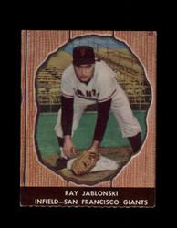 1958 RAY JABLONSKI HIRES ROOT BEER #35 GIANTS *5218
