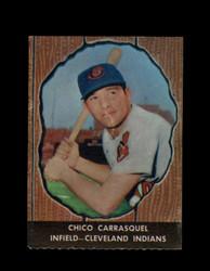 1958 CHICO CARRASQUEL HIRES ROOT BEER #11 INDIANS *6478
