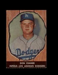 1958 DON ZIMMER HIRES ROOT BEER #41 DODGERS *6616