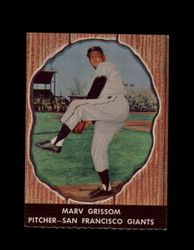 1958 MARV GRISSOM HIRES ROOT BEER #64 GIANTS *6613