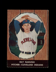 1958 RAY NARLESKI HIRES ROOT BEER #22 INDIANS *6610