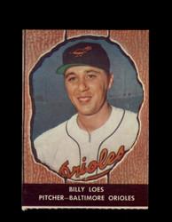 1958 BILLY LOES HIRES ROOT BEER #48 ORIOLES *6601