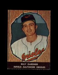 1958 BILLY GARDNER HIRES ROOT BEER #37 ORIOLES *6591