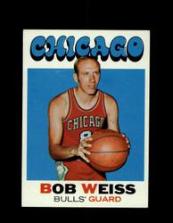 1971 BOB WEISS TOPPS #128 BULLS *7934