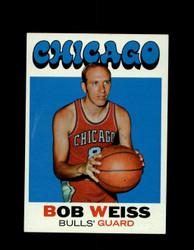 1971 BOB WEISS TOPPS #128 BULLS *6653