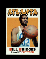 1971 BILL BRIDGES TOPPS #132 HAWKS *6655