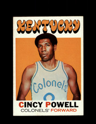 1971 CINCY POWELL TOPPS #207 COLONELS *7901