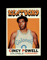 1971 CINCY POWELL TOPPS #207 COLONELS *7900