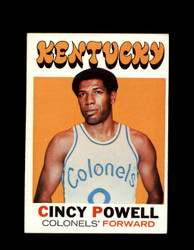 1971 CINCY POWELL TOPPS #207 COLONELS *7898