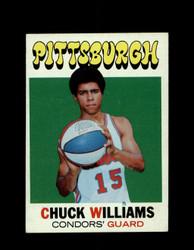 1971 CHUCK WILLIAMS TOPPS #218 CONDORS *7875