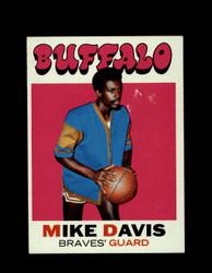 1971 MIKE DAVIS TOPPS #99 BRAVES *7859