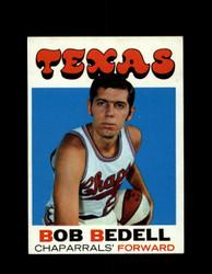 1971 BOB BEDELL TOPPS #153 CHAPARRALS *7965