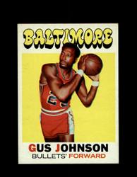 1971 GUS JOHNSON TOPPS #77 BULLETS *6256