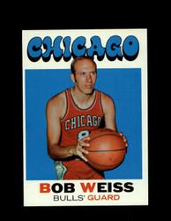 1971 BOB WEISS TOPPS #128 BULLS *6275