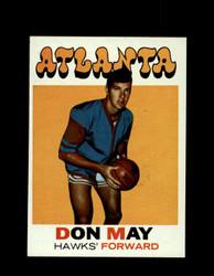 1971 DON MAY TOPPS #6 HAWKS *6276