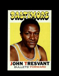 1971 JOHN TRESVANT TOPPS #37 BULLETS *6278