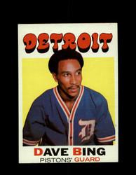 1971 DAVE BING TOPPS #78 PISTONS *6587