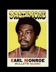 1971 EARL MONROE TOPPS #130 BULLETS *6588