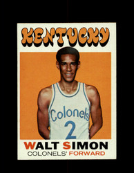1971 WALT SIMON TOPPS #214 COLONELS *6586