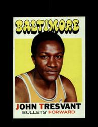 1971 JOHN TRESVANT TOPPS #37 BULLETS *6585