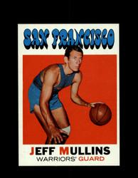 1971 JEFF MULLINS TOPPS #115 WARRIORS *6583