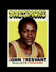 1971 JOHN TRESVANT TOPPS #37 BULLETS *6580