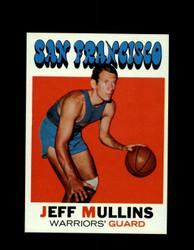 1971 JEFF MULLINS TOPPS #115 WARRIORS *6579