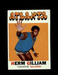 1971 HERM GILLIAM TOPPS #123 HAWKS *6558