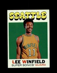 1971 LEE WINFIELD TOPPS #103 SUPER SONICS *6555