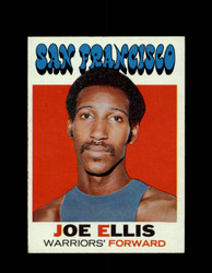 1971 JOE ELLIS TOPPS #51 WARRIORS *6554