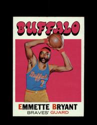 1971 EMMETTE BRYANT TOPPS #48 BRAVES *6553