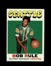 1971 BOB RULE TOPPS #40 SUPER SONICS *6552