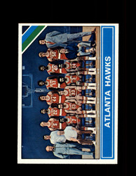 1975 ATLANTA HAWKS TOPPS #203 TEAM CARD *1896