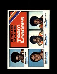 1975 CAVALIERS TOPPS #120 TEAM LEADERS *6338