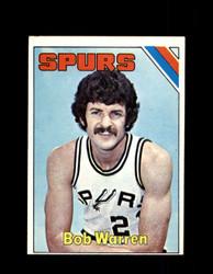 1975 BOB WARREN TOPPS #313 SPURS *6297