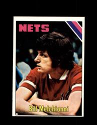 1975 BILL MELCHIONNI TOPPS #291 NETS *6314