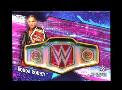 2020 RONDA ROUSEY TOPPS WOMENS DIVISION #/150 CHAMPIONSHIP PLATE PATCH BELT *3335