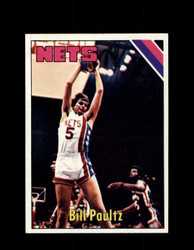 1975 BILL PAULTZ TOPPS #262 NETS *6010